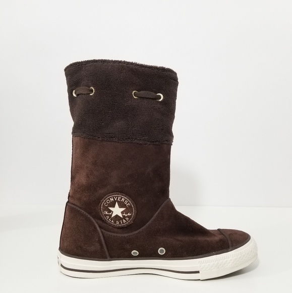 7e6d224c8ffb Converse Shoes - Converse All Star Brown Andover Suede Fleece Boots
